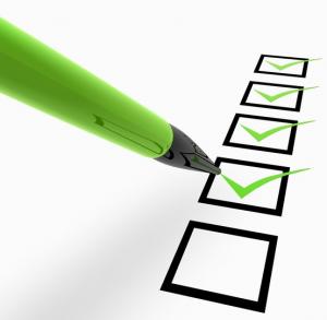 bankrutpcy checklist
