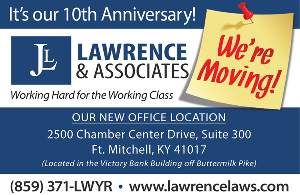 lawrence and associates is moving