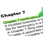 What's the difference between a Chapter 7 bankruptcy and a Chapter 13 bankruptcy?